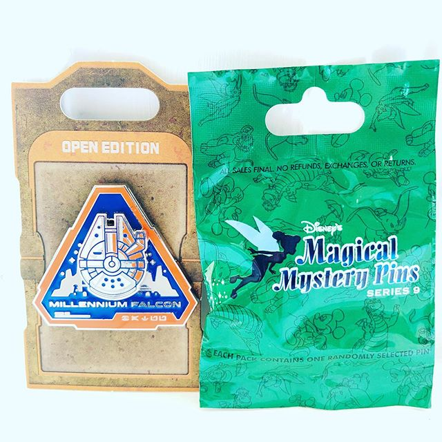 Millenium Falcon and mystery pin bag