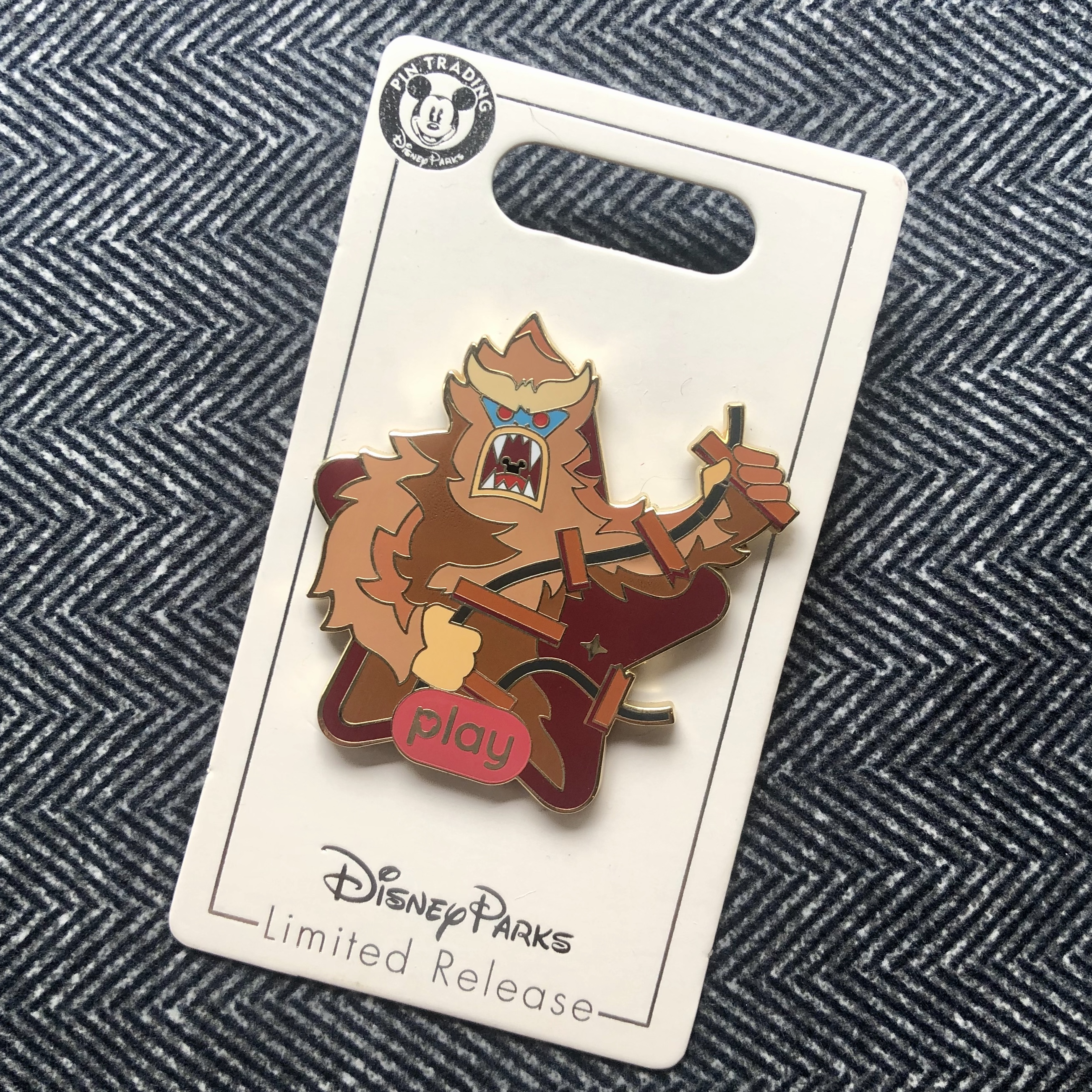 Yeti from Expedition Everest pin